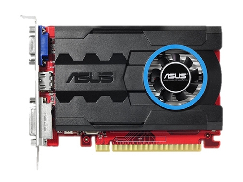 ���������� GeForce ASUS Radeon R7 240 600Mhz PCI-E 3.0 1024Mb 1600Mhz 64 bit DVI HDMI HDCP (R7240-1GD3), ��� 1