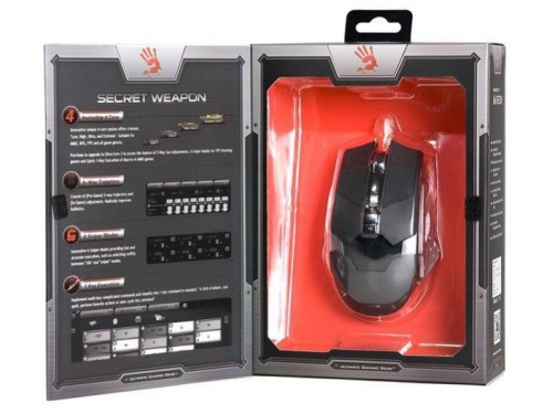 Мышка A4Tech Bloody Terminator TL5 Silver-Black USB, вид 3