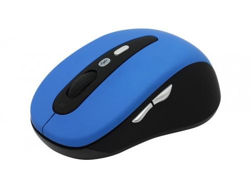 Мышь CBR CM-530 Bluetooth голубая, вид 1