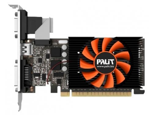 Видеокарта GeForce Palit GeForce GT 730 902Mhz PCI-E 2.0 1024Mb 5000Mhz 64 bit DVI HDMI HDCP (NE5T7300HD06-2081F), вид 1