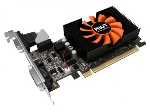 Видеокарта GeForce Palit GeForce GT 730 902Mhz PCI-E 2.0 1024Mb 5000Mhz 64 bit DVI HDMI HDCP (NE5T7300HD06-2081F), вид 2
