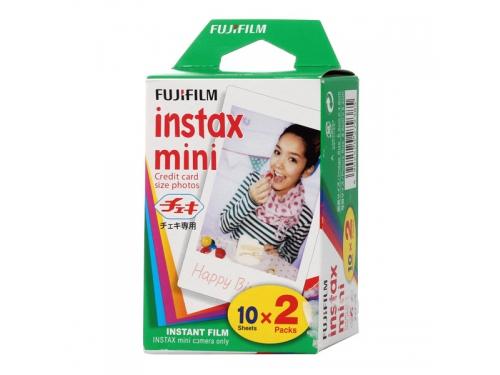 Картридж для фотоаппарата моментальной печати Fujifilm Colorfilm Instax Mini Glossy 10/2PK, вид 1