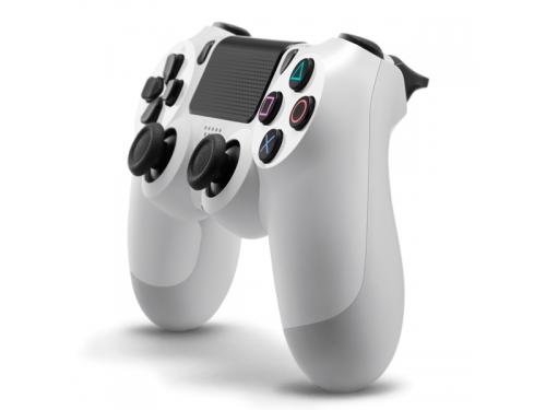 Геймпад Sony DualShock 4 (CUH-ZCT1E), белый, вид 1