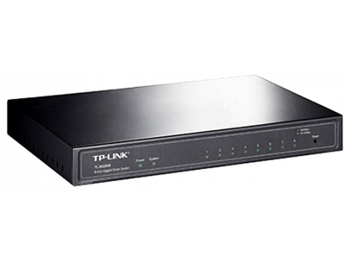 Коммутатор (switch) TP-LINK TL-SG2008, вид 1