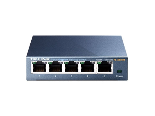 Коммутатор (switch) TP-LINK TL-SG105, вид 1