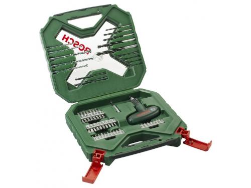 Набор сверл Bosch X-line 54, набор бит и сверл, 54 предмета, вид 1