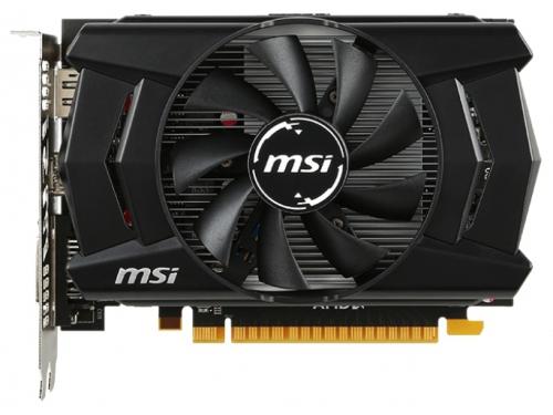 Видеокарта GeForce MSI Radeon R7 360 1100Mhz PCI-E 3.0 2048Mb 6500Mhz 128 bit DVI HDMI HDCP (R7 360 2GD5 OC), вид 1