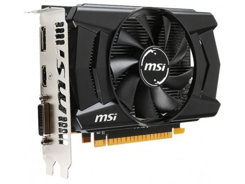 Видеокарта GeForce MSI Radeon R7 360 1100Mhz PCI-E 3.0 2048Mb 6500Mhz 128 bit DVI HDMI HDCP (R7 360 2GD5 OC), вид 2