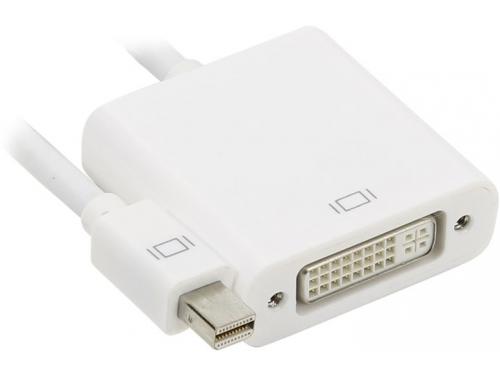 Кабель (шнур) Telecom miniDP — DVI-I DL (M-F), ~20 см (TA6050), белый, вид 1