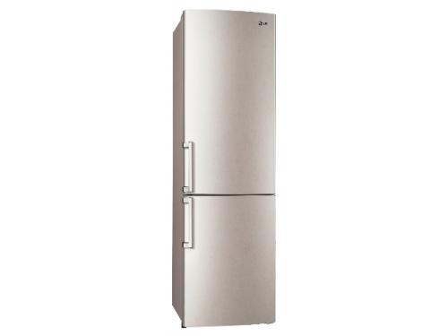 Холодильник LG GA-B489 ZECL, бежевый, вид 1