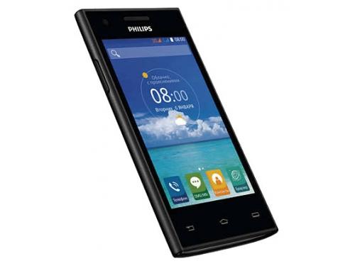 Смартфон Philips S309, черный 4Gb, вид 1