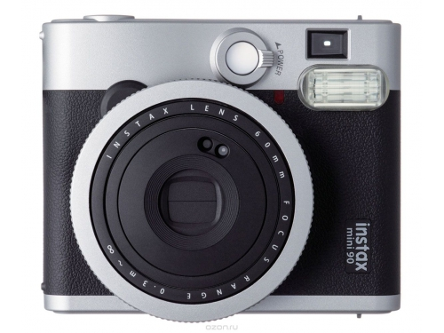 Фотоаппарат моментальной печати моментальной печати Fujifilm Instax Mini 90, чёрный, вид 1