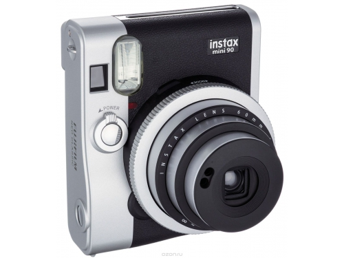 Фотоаппарат моментальной печати моментальной печати Fujifilm Instax Mini 90, чёрный, вид 5