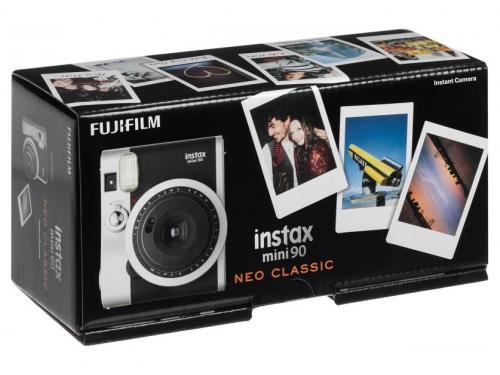 Фотоаппарат моментальной печати моментальной печати Fujifilm Instax Mini 90, чёрный, вид 7