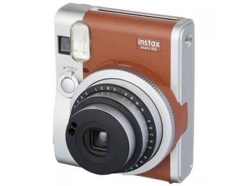 Фотоаппарат моментальной печати Fujifilm Instax Mini 90, коричневый, вид 1