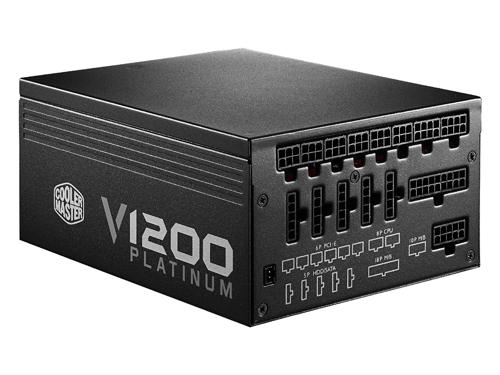 Блок питания Cooler Master V1200 Platinum 1200W (RSC00-AFBAG1-EU), вид 1
