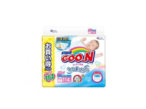 Подгузник Goo.N Ultra Jumbo Pack (до 5 кг) NB, вид 1