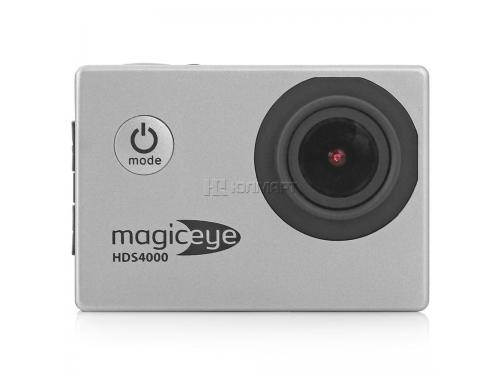 Видеокамера Gmini MagicEye HDS4000, экшн-камера с набором принадлежностей, серебристая, вид 20