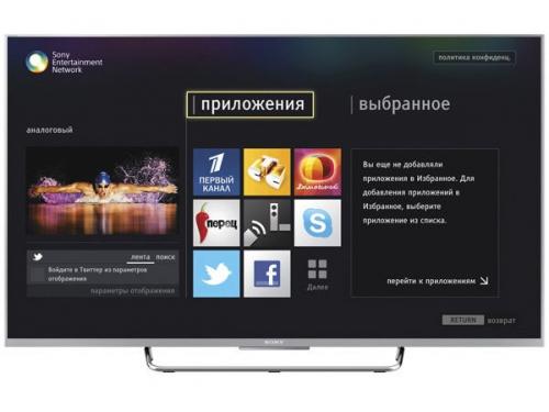 телевизор Sony KDL-55W807C, вид 1