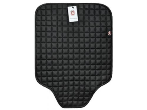 Baby-Smile BabySmile 123403, защитный коврик на сидение автомобиля, с квадратным рисунком, чёрный