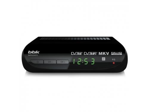 Tv-тюнер BBK SMP022HDT2, черный, вид 1