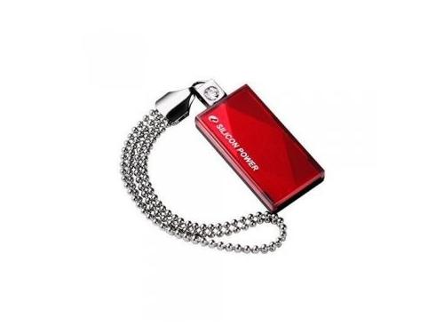 Usb-флешка Silicon Power Touch 810 64Gb, красная, вид 2