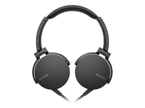 Гарнитура для телефона Sony MDR-XB550AP/B, черная, вид 1