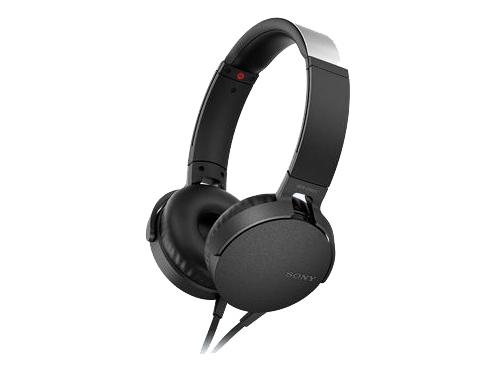Гарнитура для телефона Sony MDR-XB550AP/B, черная, вид 2