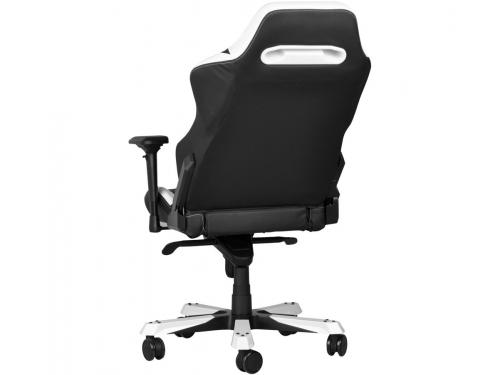 Игровое компьютерное кресло DXRacer Iron OH/IS11/NW, черное/белое, вид 5