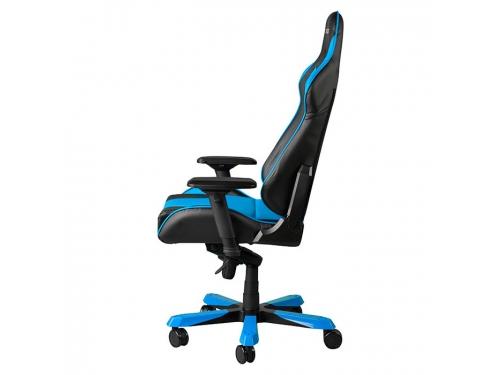 Игровое компьютерное кресло DXRACER King OH/KS06/NB, для геймеров, черно-голубое, вид 4