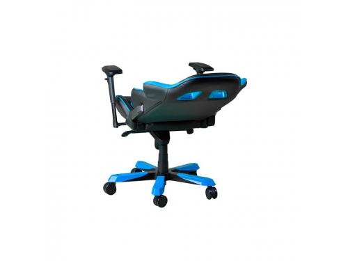 Игровое компьютерное кресло DXRACER King OH/KS06/NB, для геймеров, черно-голубое, вид 6