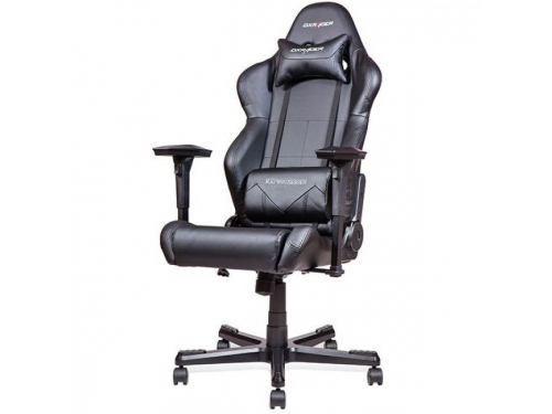 Игровое компьютерное кресло DxRacer OH/RE99/N черное, вид 5