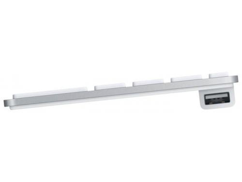 Клавиатура Apple MB110 Wired Keyboard White, вид 3