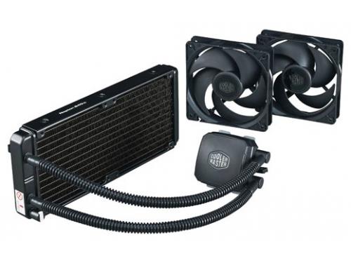 Кулер Cooler Master Nepton 240M (775, 115x, 13x6, 2011 / AM2 … FM2+ ), RL-N24M-24PK-R1, вид 2