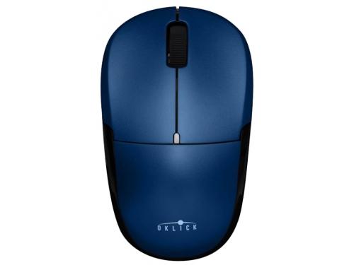Мышка Oklick 575SW+ Wireless Optical Mouse Blue USB, вид 4
