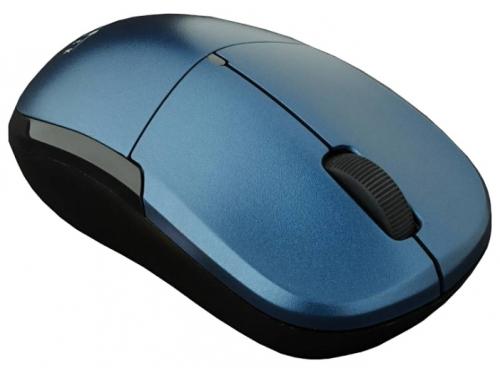 Мышка Oklick 575SW+ Wireless Optical Mouse Blue USB, вид 2