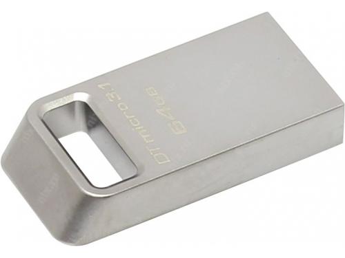 Usb-флешка Kingston DataTraveler Micro 3.1 DTMC3/64GB (USB 3.1), вид 2