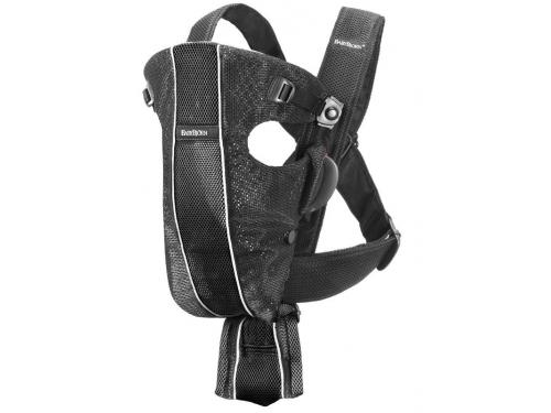 Рюкзак-кенгуру BabyBjorn Original (Classic) mesh черный, вид 1