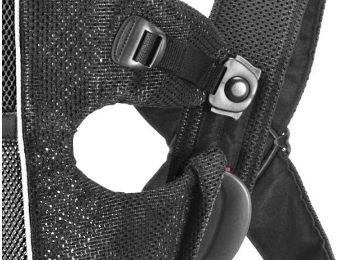 Рюкзак-кенгуру BabyBjorn Original (Classic) mesh черный, вид 6