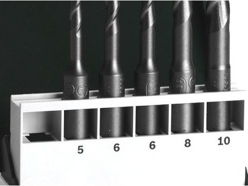 Набор сверл сверл BOSCH 2609255541, по бетону, 5-10 мм, вид 2