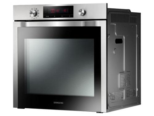 Духовой шкаф Samsung NV6584BNESR, серебристый, вид 1