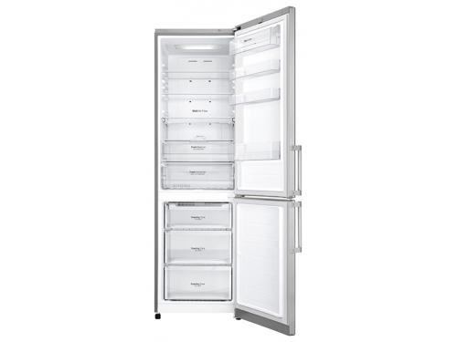 Холодильник LG GA-B499YAQZ, серебристый, вид 2