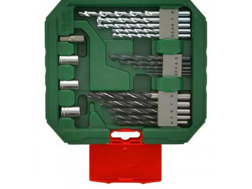 Набор сверл Bosch X-Line Classic, биты и свёрла + кейс, 34 предмета [2607010608], вид 4