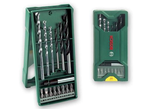 Набор сверл Bosch 2607019579, биты и свёрла, 15 предметов, вид 1
