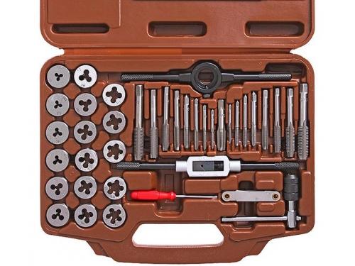 Набор метчиков и плашек OMBRA OMT40S, 40 предметов, вид 2