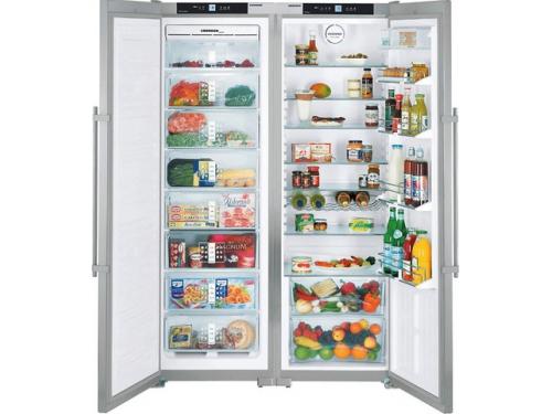 Холодильник Liebherr SBSes 7252 (SGNes 3010 + SKes 4210) нержавеющая сталь, вид 1