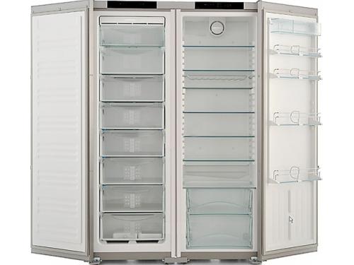 Холодильник Liebherr SBSes 7252 (SGNes 3010 + SKes 4210) нержавеющая сталь, вид 3