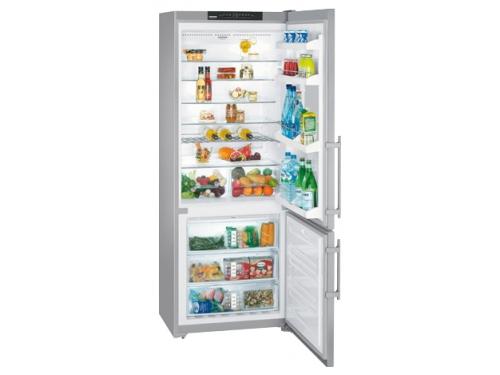 Холодильник Liebherr CNesf 5113 нержавеющая сталь, вид 1