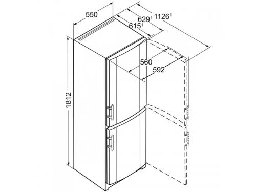Холодильник Liebherr CUag 3311-20, вид 6
