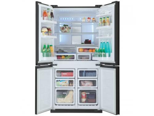Холодильник Sharp SJFS97VBK, вид 3